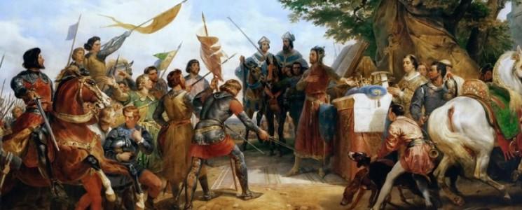Battaglia di Bouvines: Filippo II Augusto opposto a l'imperatore Ottone IV (1214).