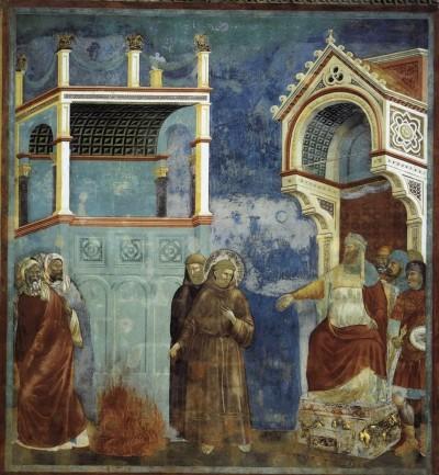 S. Francesco incontra al-Kamil