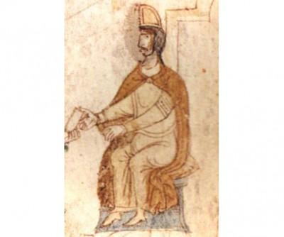 Dal Liber ad honorem Augusti di Pietro da Eboli - Tancredi di Lecce
