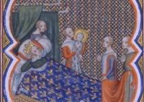 Nascita di Luigi IX