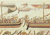 Navi normanne, dall'Arazzo di Bayeux