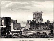 Castello svevo - angioino Anno 1838 - disegno