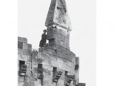 Castello svevo - angioino Anno 1907 - Foto di Arthur Haseloff