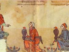 il sovrano e i falconieri