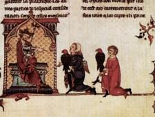 il sovrano e i falconieri - versione francese